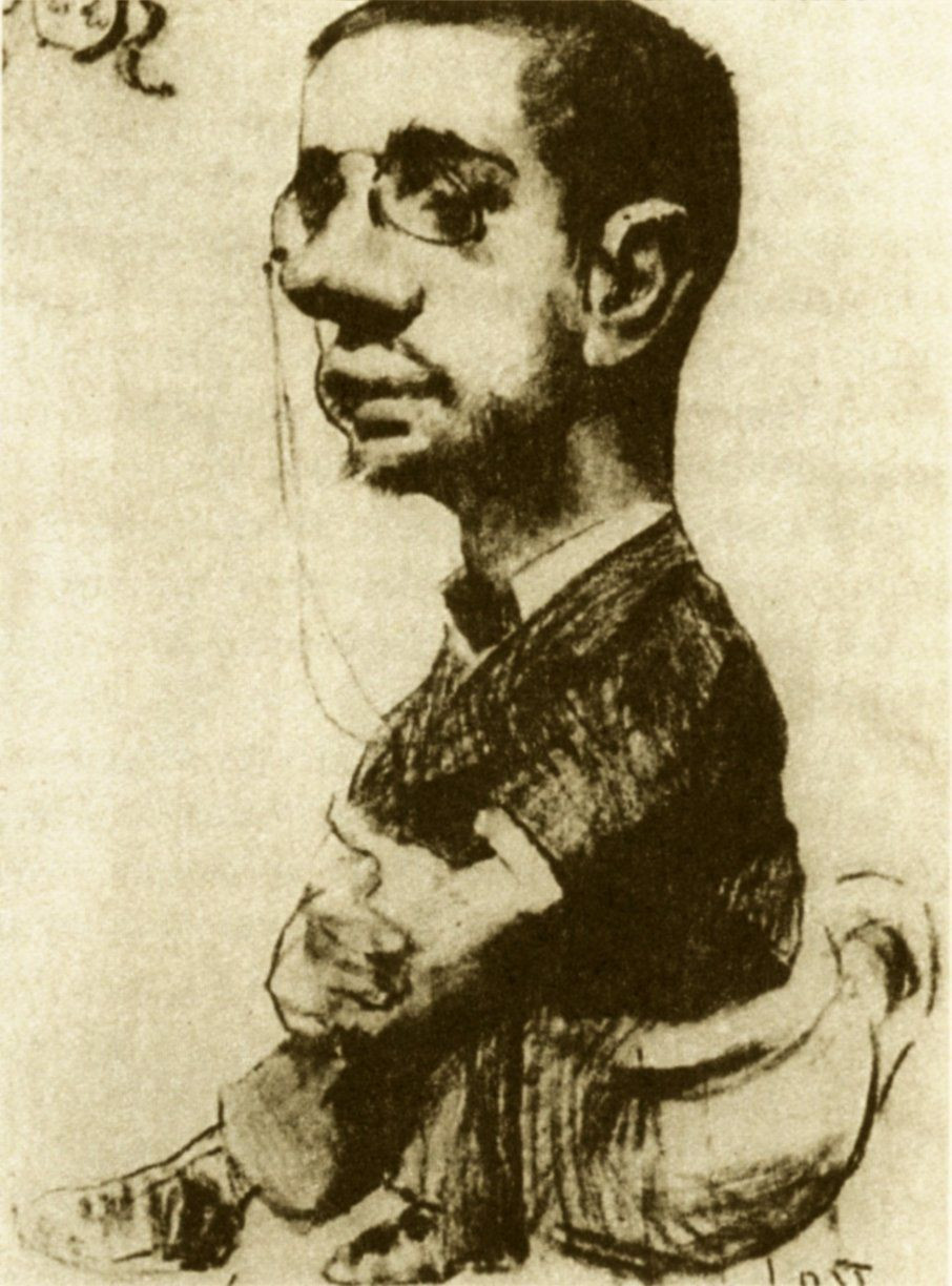 Toulouse-Lautrec, Self Portrait, 1882