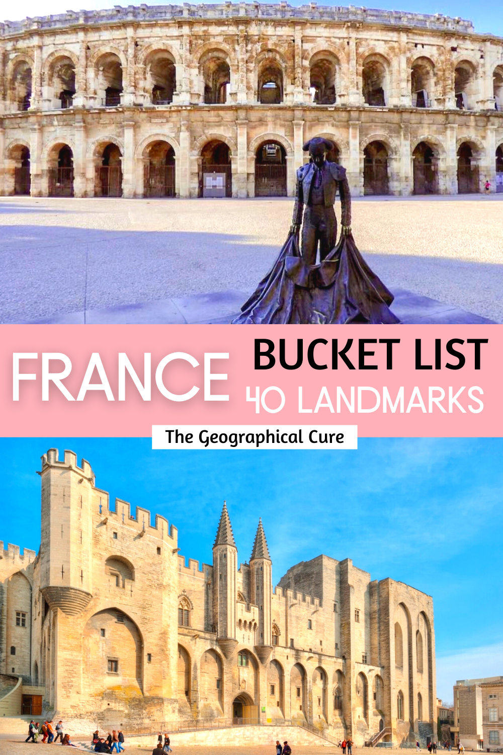bucket list landmarks in France