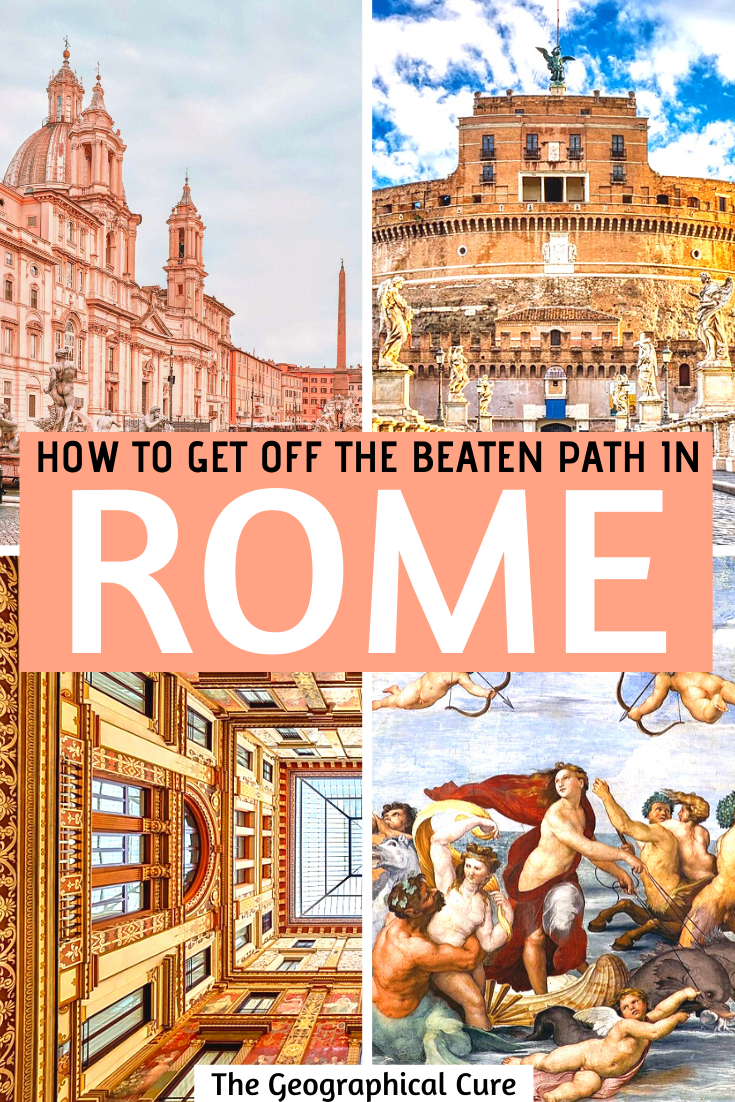 How to get off the beaten path in Rome Italy: 33 hidden gems to discover