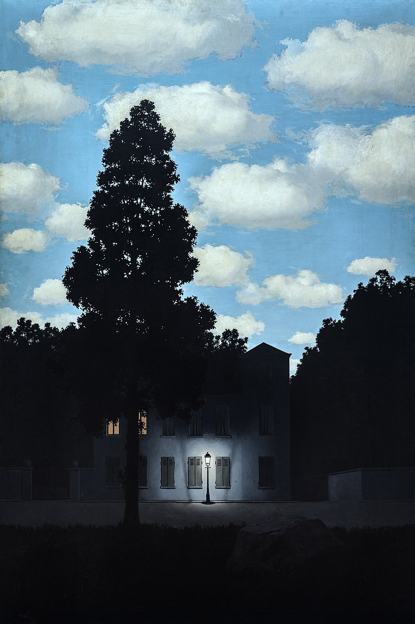 Rene Magritte, The Empire of Light, 1898