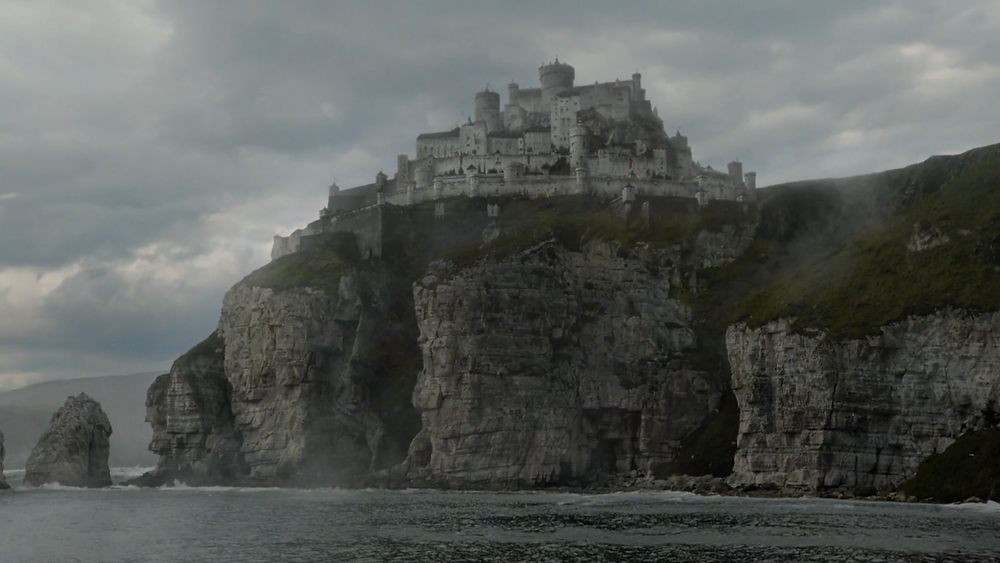 his is Casterly Rock, an irrelevant hunk of rock of no political importance. It's just of sentimental value to Tyrion