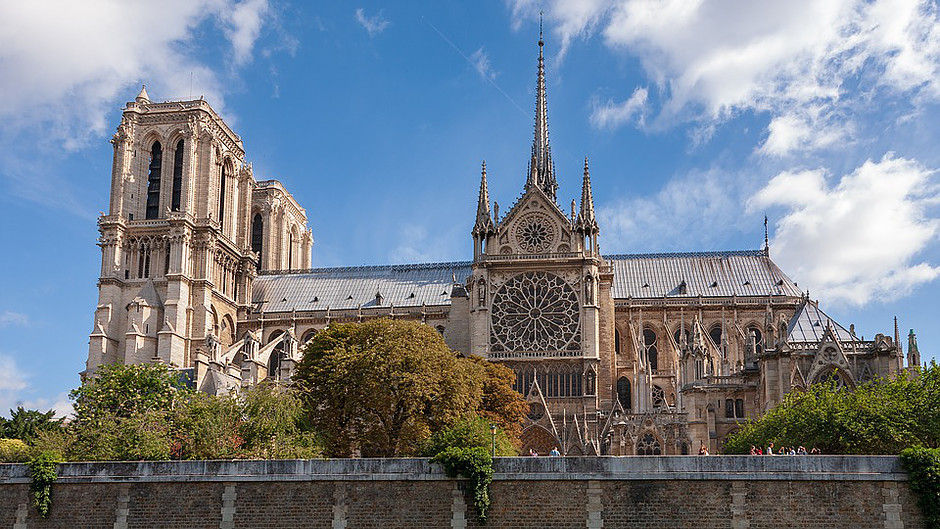 Notre Dame de Paris before the April 2019 fire