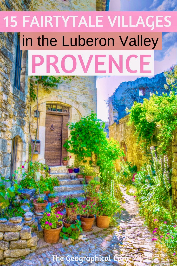Fairytale Villages in the Luberon Valley of Provence