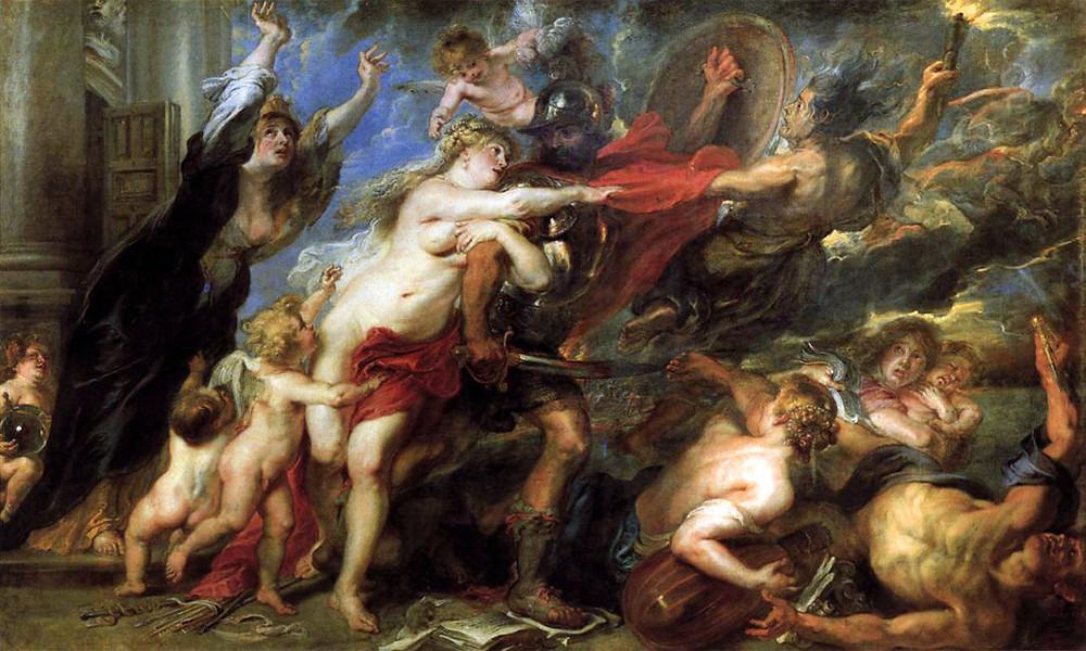 Rubens, Allegory of War, 1639