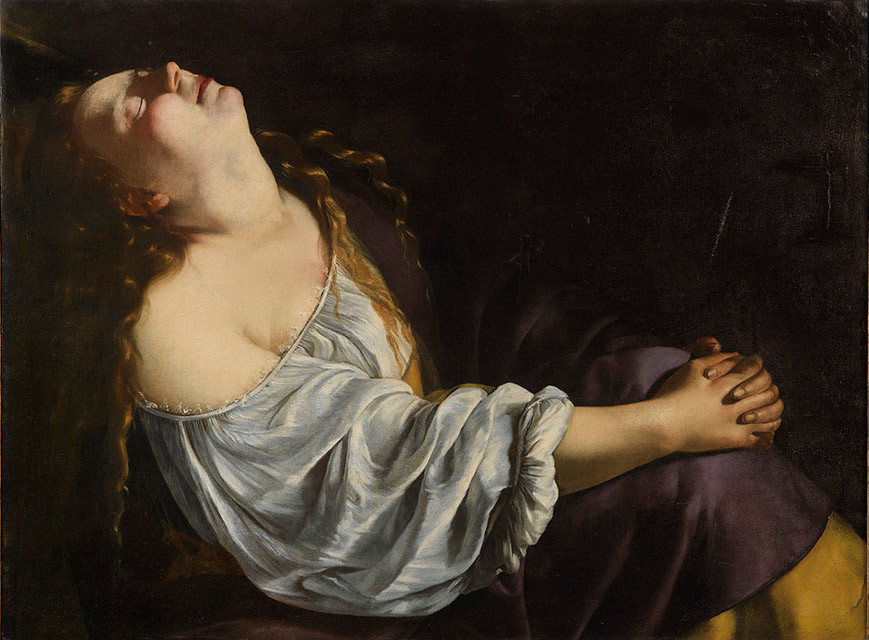 Artemisia Gentileschi, Mary Magdalene in Ecstacy, 1623