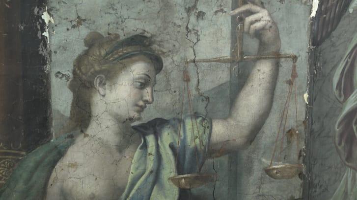 Raphael, Justice, 1519