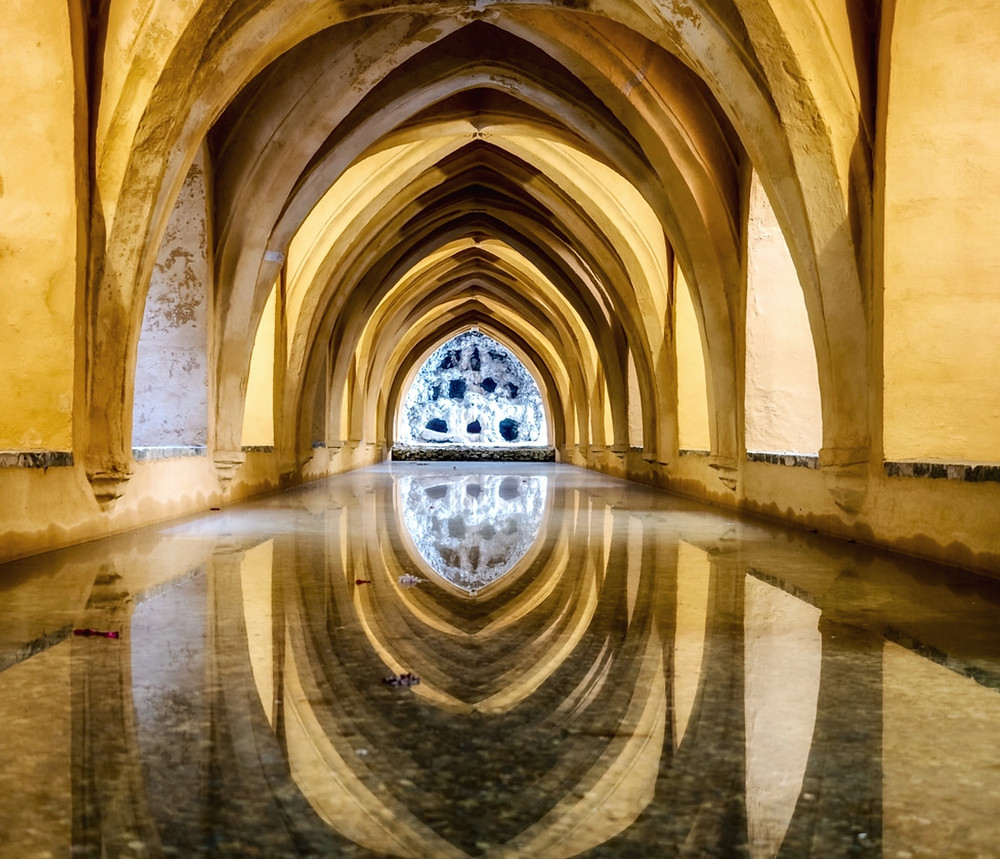 Baths of Maria Padilla in the Alcazar Gardens