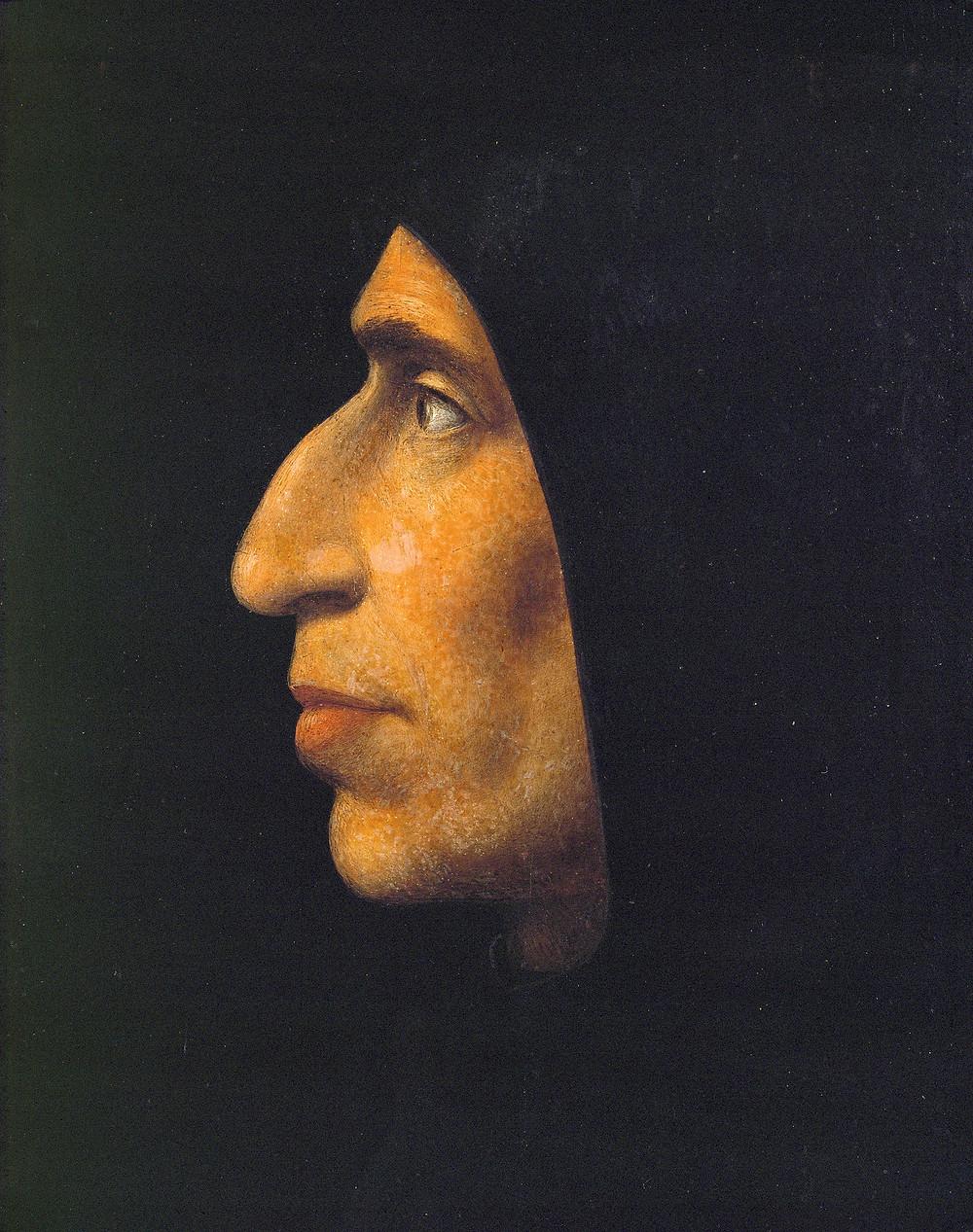 Fra Bartolomeo, Girolamo Savonarola,1495 -- in San Marco Monastery