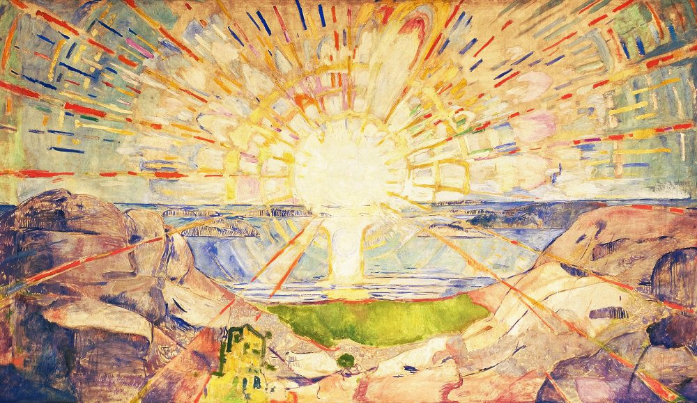 Edvard Munch, The Sun, 1909