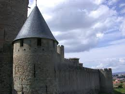 medieval Carcassonne France