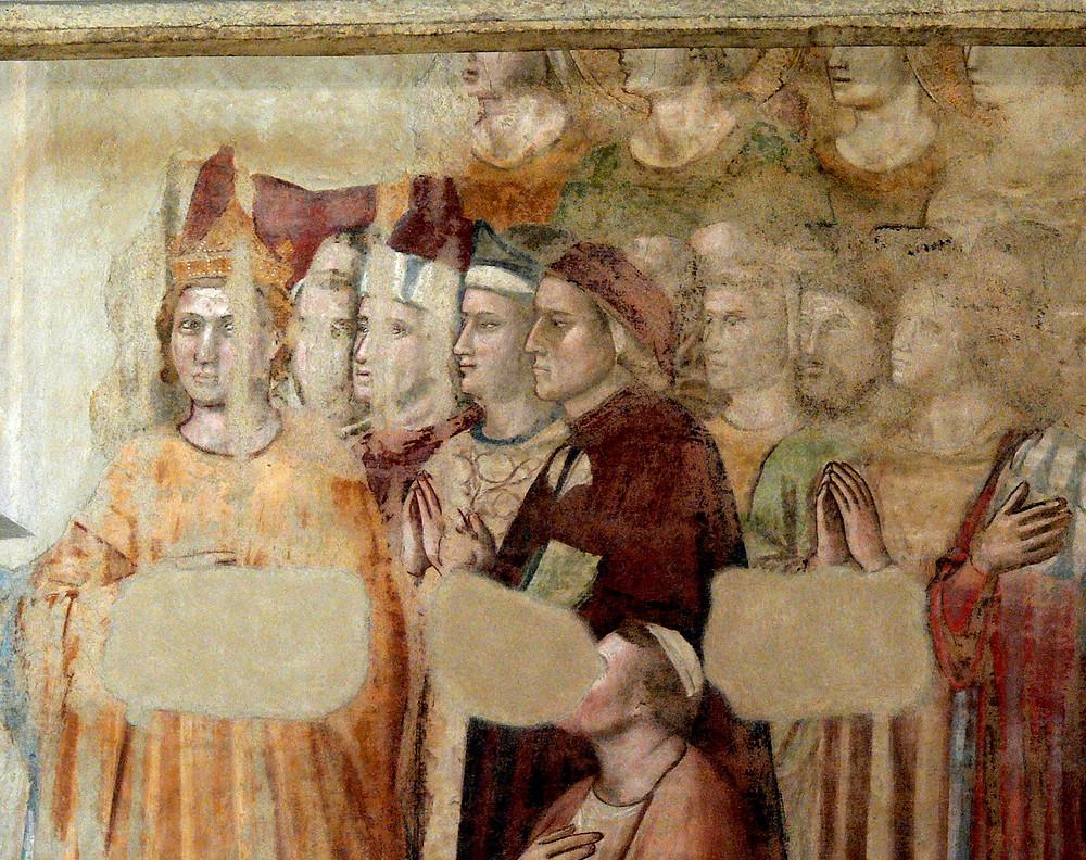 frescos in the Magdalene Chapel