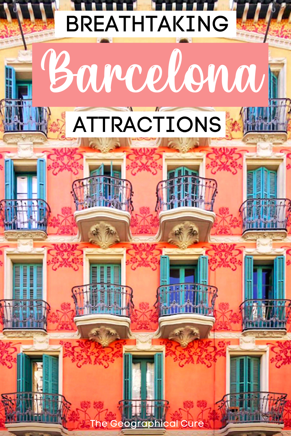 Must See Attractions in Barcelona Spain
