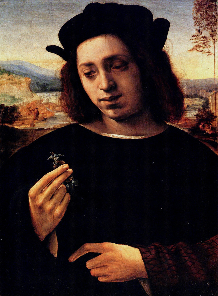 Ghirlandaio, Portrait of a Goldsmith, 1500