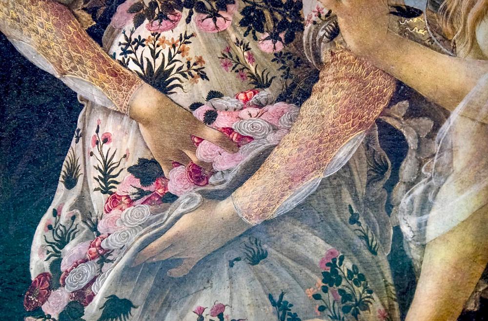 detail of Flora, image source: Flickr Darren & Brad