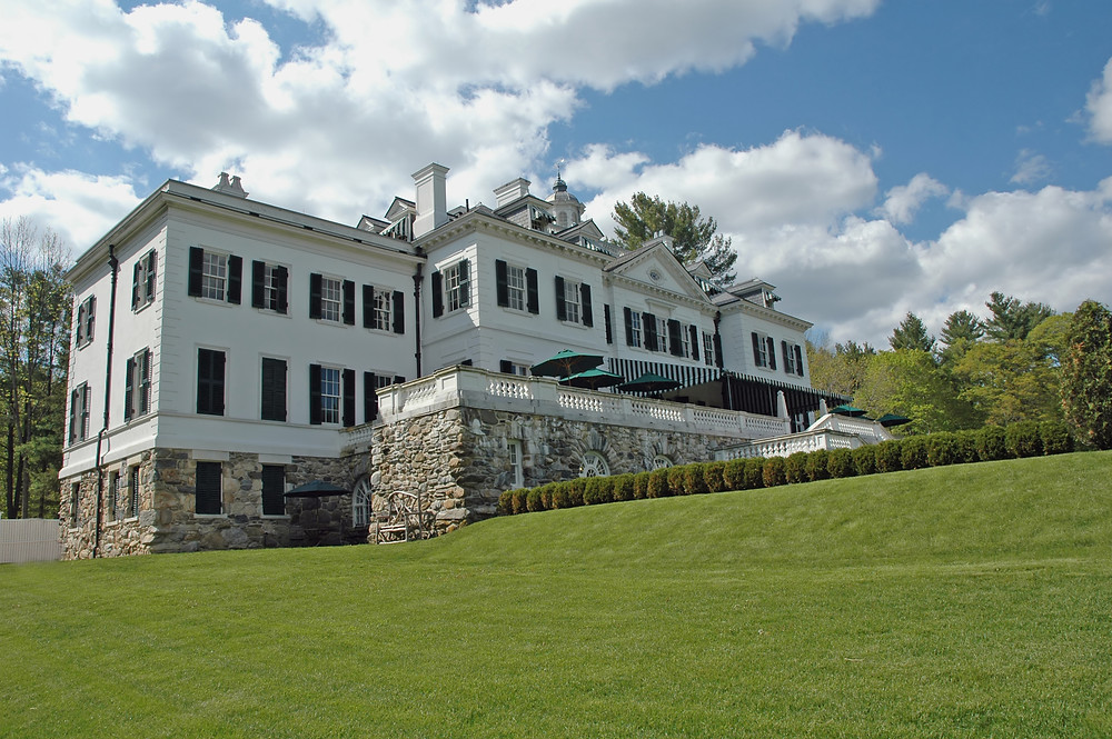 The Mount, Edith Wharton's former home in Lenox