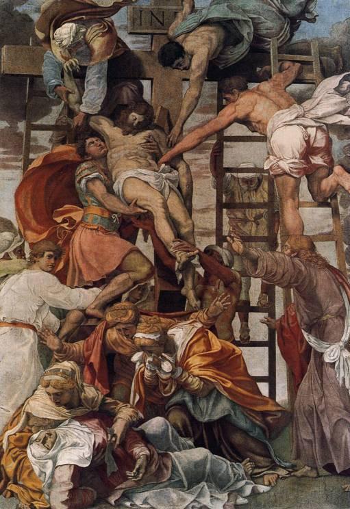 Daniele da Volterra, The Deposition, 1521