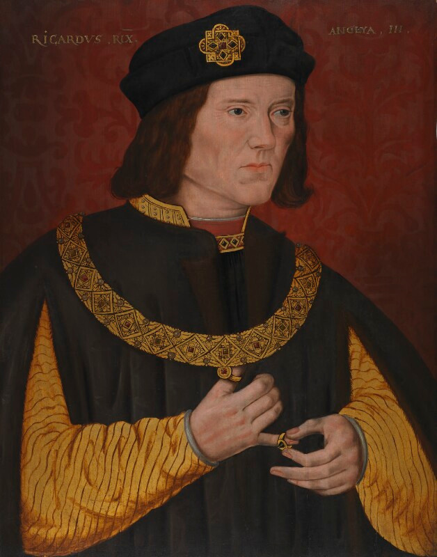 another inaccurate Tudor portrait of Richard III at London's National Portrait Gallery, unknown artist, 1597-1618
