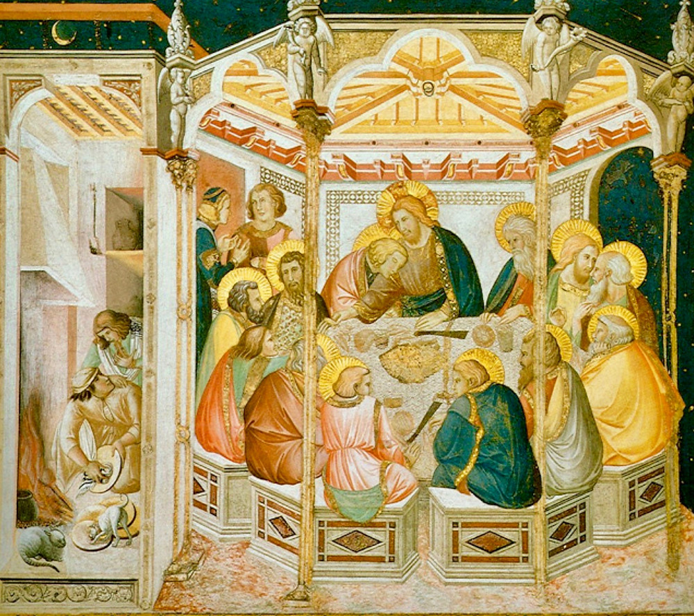Pietro Lorenzetti, The Last Supper, 1320