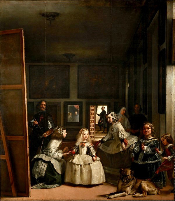 The Prado's most famous painting -- Diego Velazquez, Las Meninas, 1656