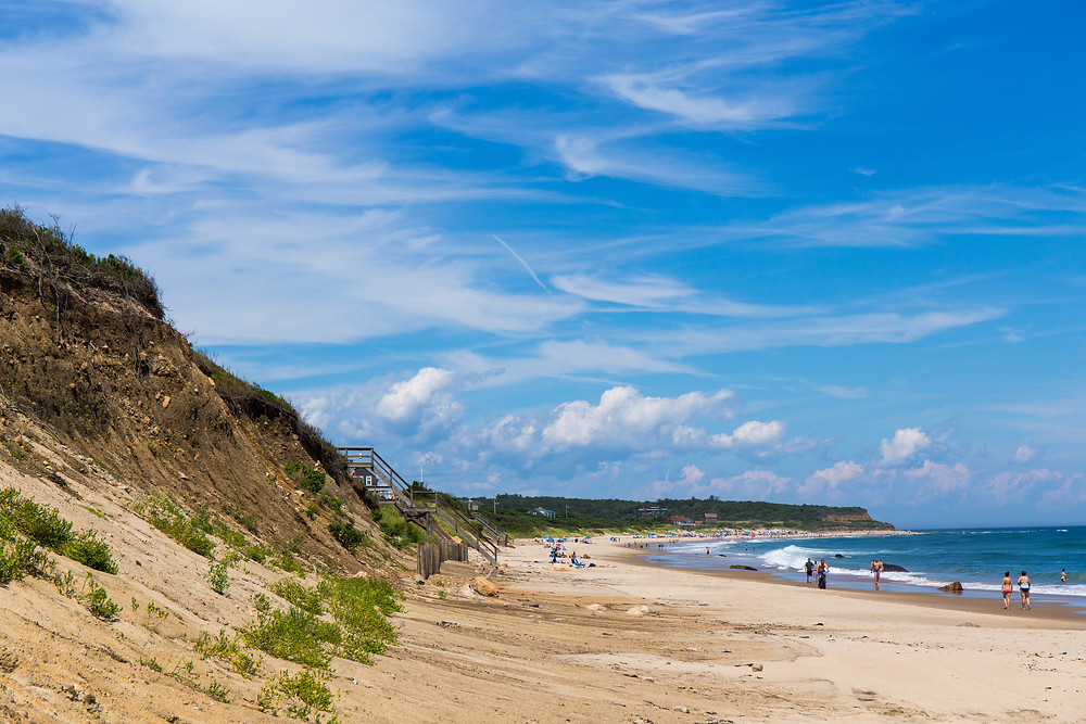 sandy beaches on Block Island