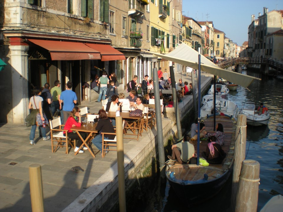 Fondamenta Misercordia, the snack aisle of Cannaregio