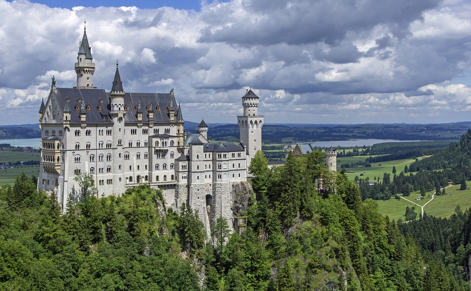 Neuschwanstein Castle aka the Sleeping Beauty Castle