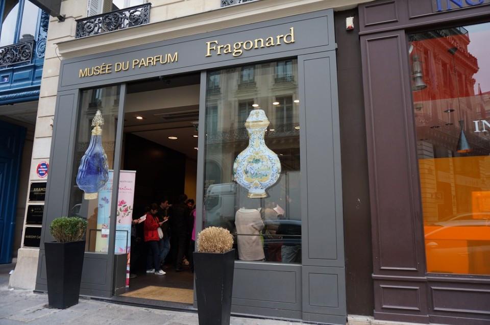 the Fragonard Perfume Museum in Paris