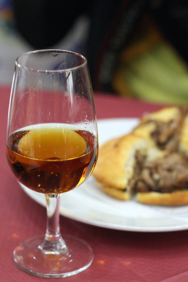 """""""orange wine,"""" a special little delicacy of Seville"""