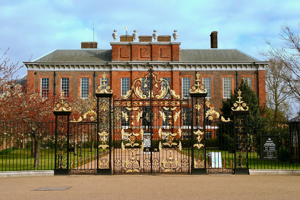 exterior of Kensington Palace in west London