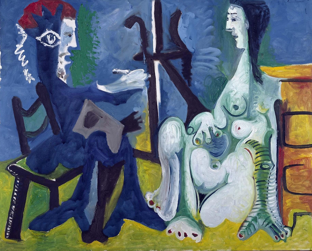 Pablo Picasso, The Painter and The Model,1963.