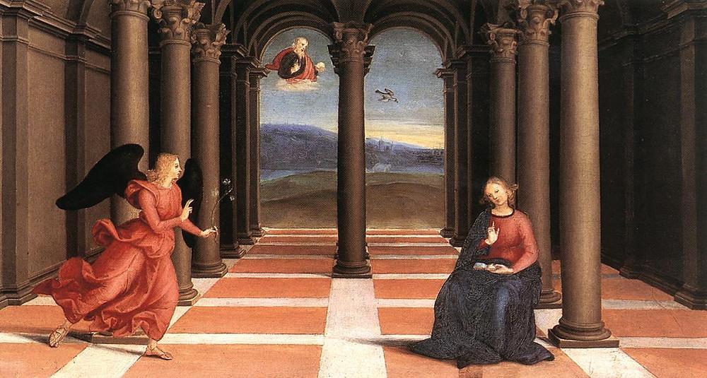 Raphael, The Annunciation, 1502-03