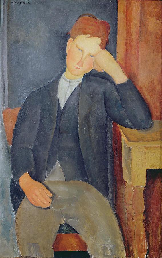 Amedeo Modigiliani, The Young Apprentice, 1918-19