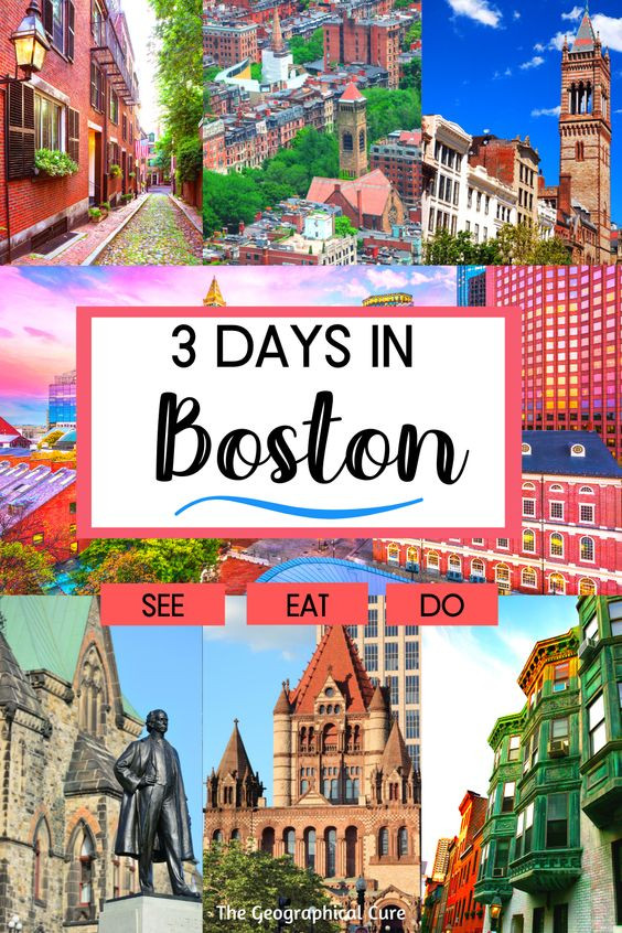 Perfect 3 Day Itinerary for Boston MA