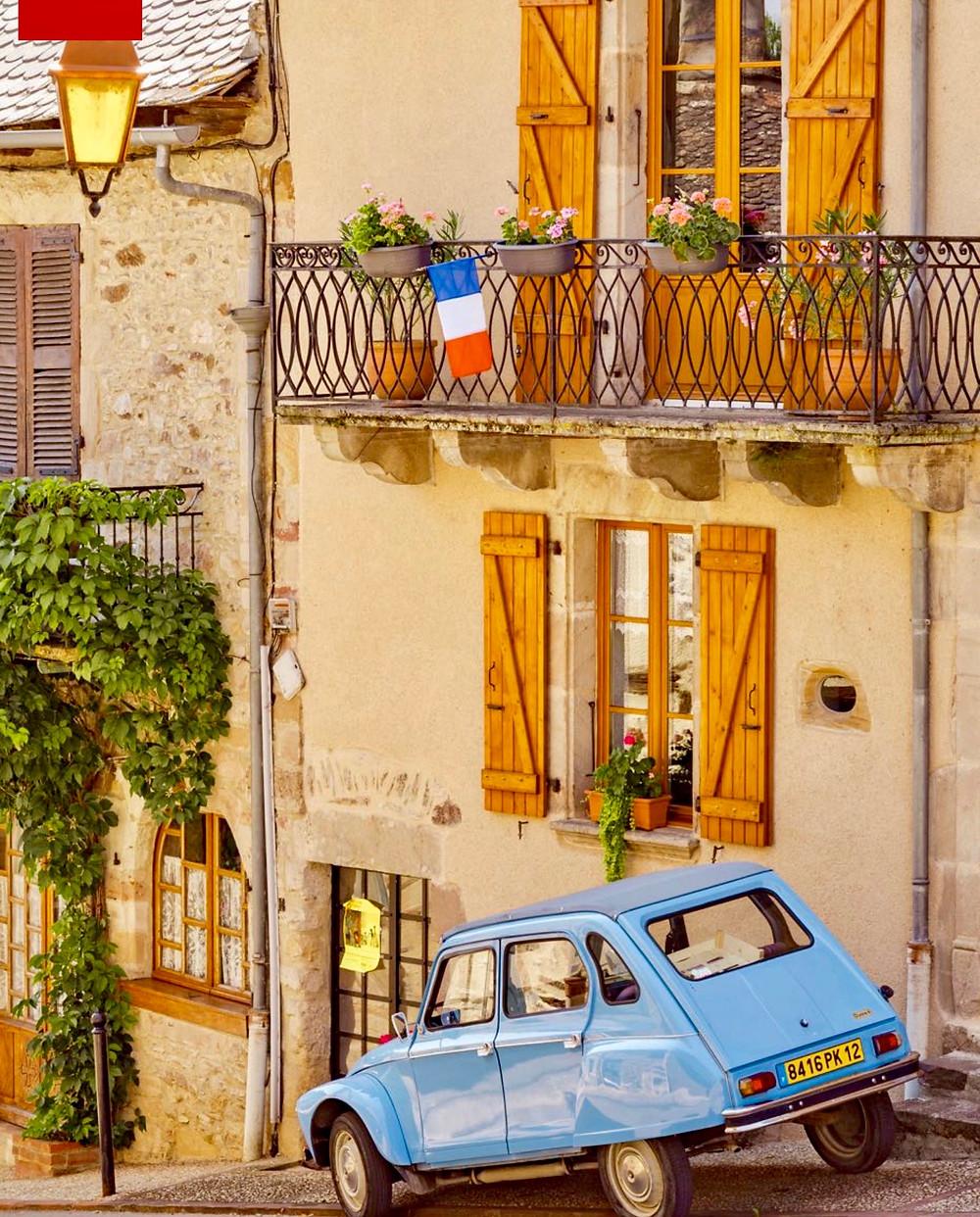 street in Najac France