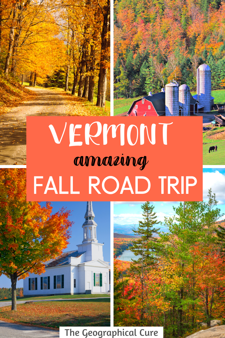 Epic Road Trip for Vermont USA