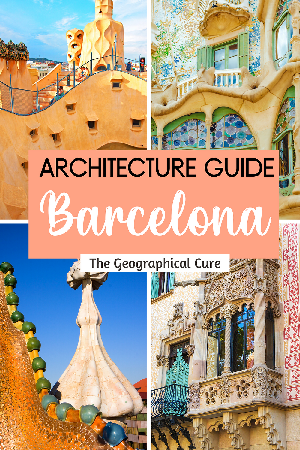 Architect Lover's Guide to Barcelona
