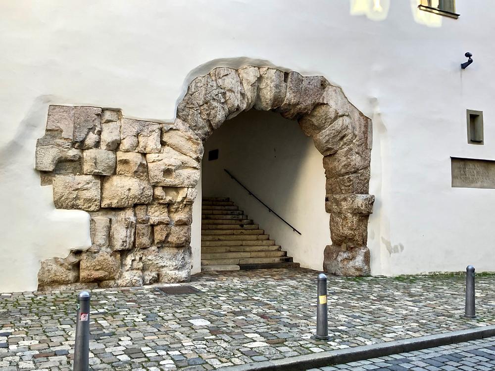 Porta Praetoria, Roman ruins in Regensburg
