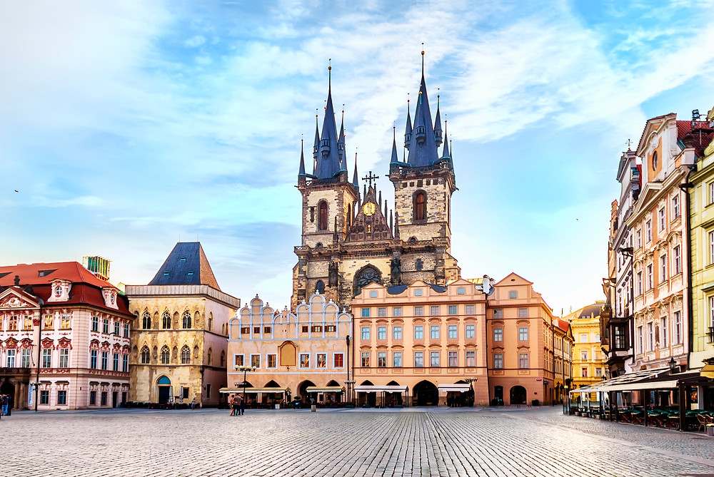 Tyn Cathedral in Old Town Square