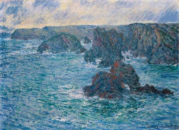 Monet, Belle-Ile, 1886