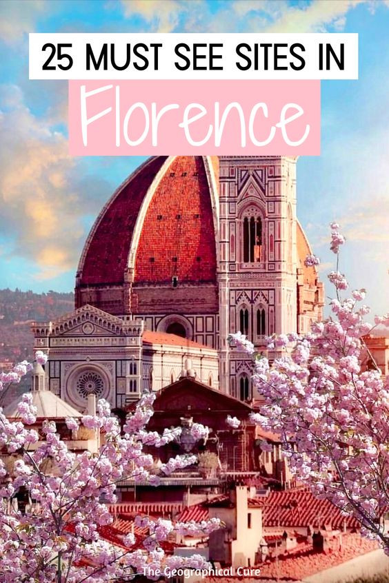 25 Amazing Must See Sites in Florence