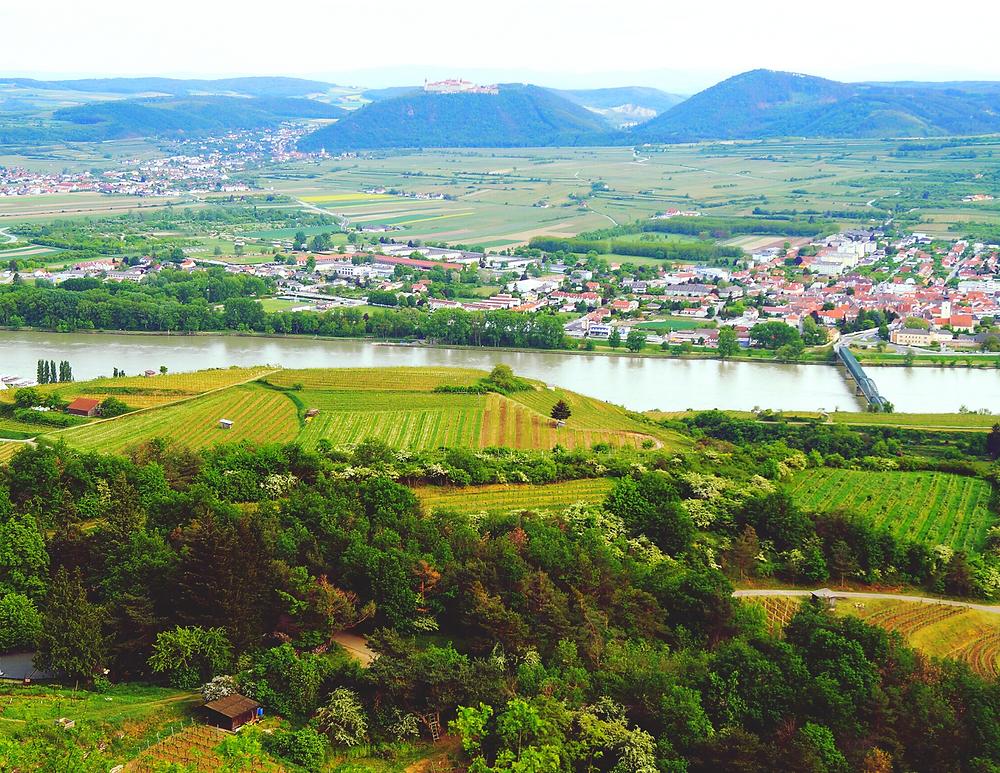 the Wachau Valley in Austria