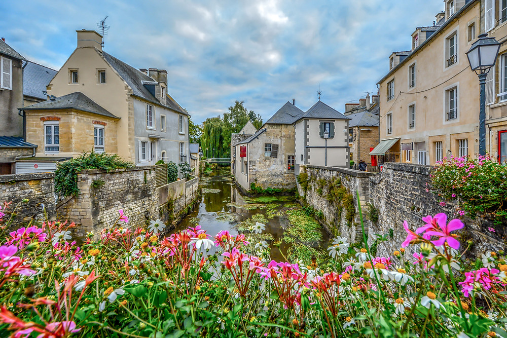 the picturesque town of Bayeux, a must visit destination in Normandy
