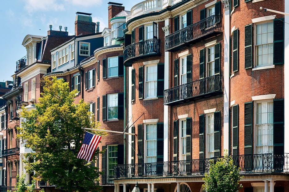William Pickering Prescott House on Boston's Beacon Street