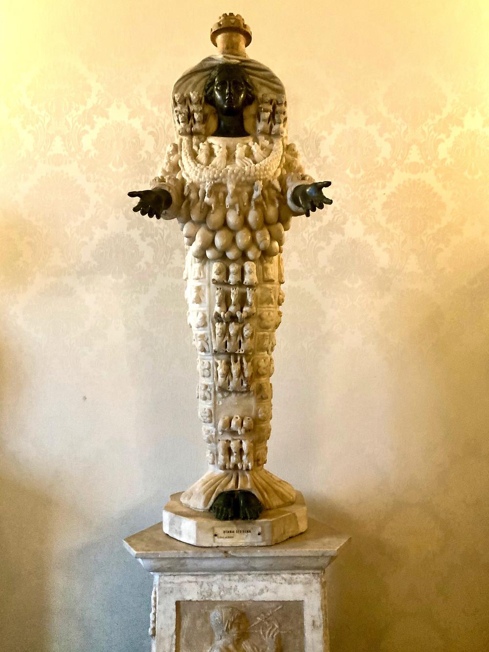 Artemis of Ephesus, the fertility cult statue
