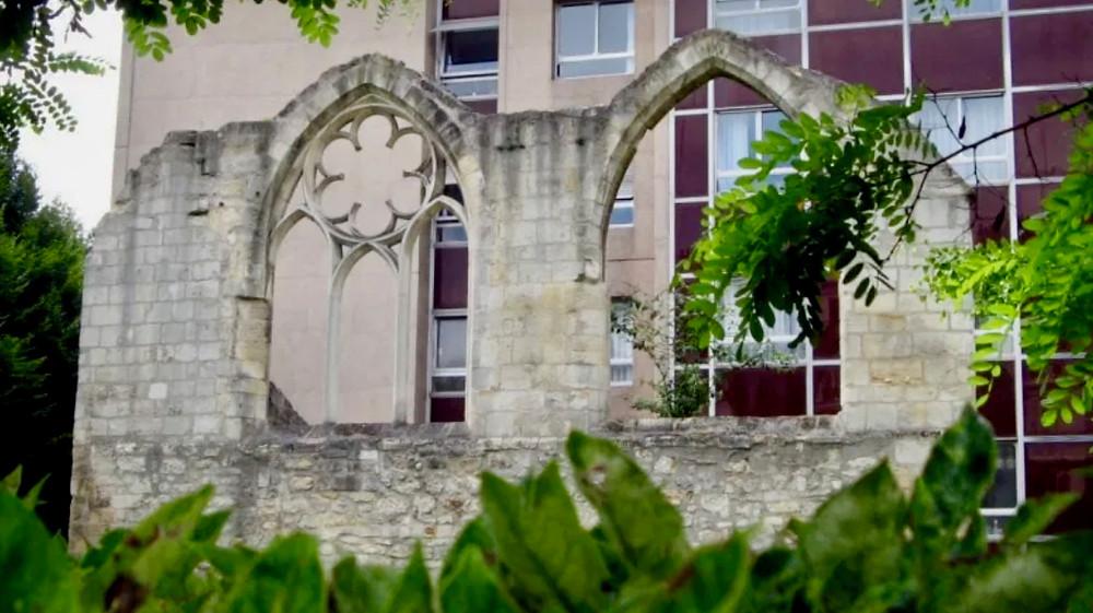 Remains of the Convent des Cordelieres in Paris' Latin Quarter