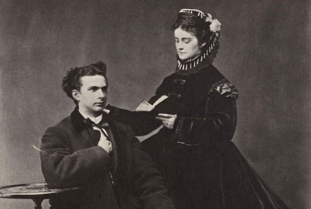 Ludwig and his ill-fated fiancee Duchess Sophie
