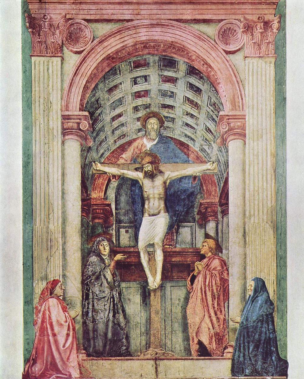 Masaccio, Holy Trinity, 1427