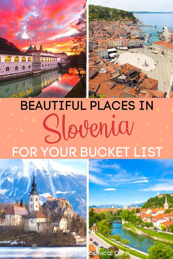 ultimate guide to the most beautiful places in Slovenia for your Balkans bucket list