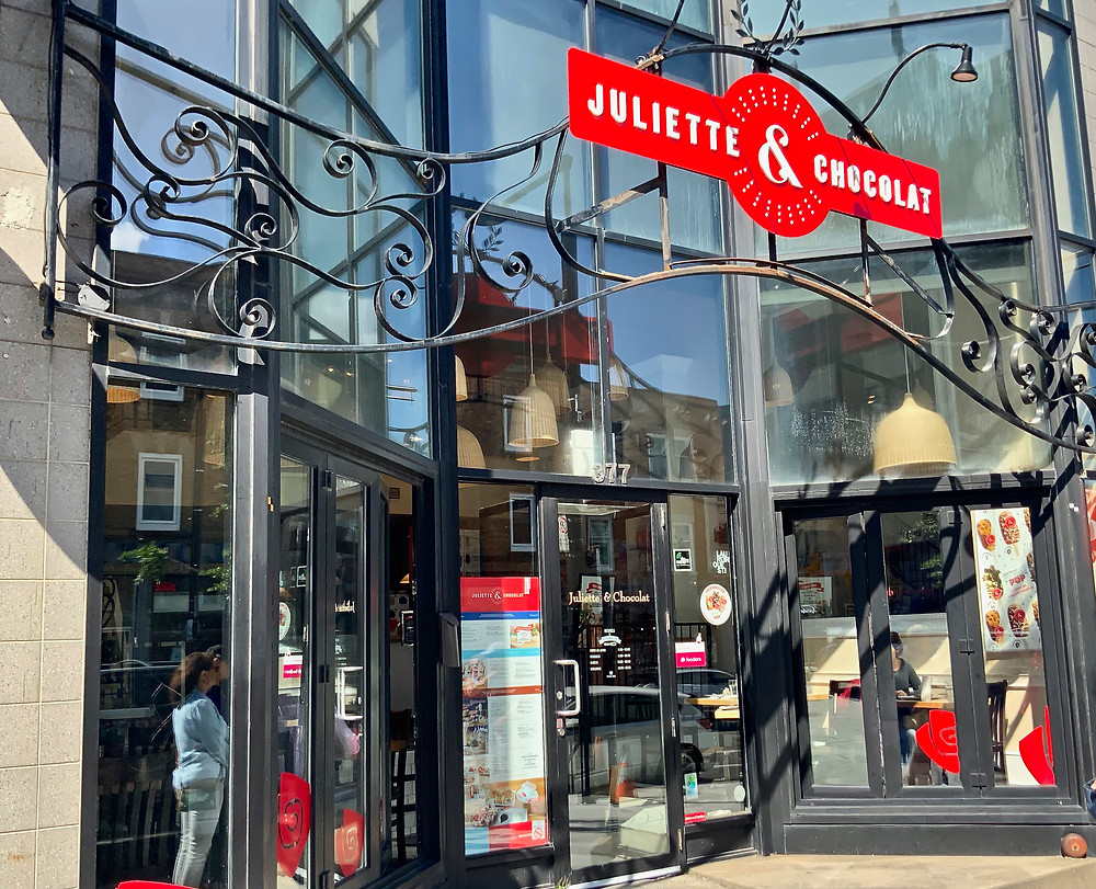 Juliette & Chocolate in the Outremont neighborhood of Montreal