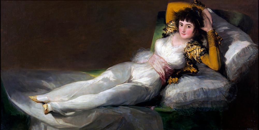 Francisco Goya, Nude Maya, 1800-05